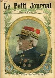 Le Petit Journal Supplement Illustre Numero 1323 Le General Balfourier Commandant Du 20eme Corps Comment On Exerce Les Recrues Russes Revue 876282690 ML